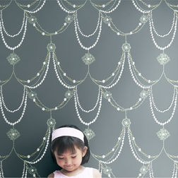 Elementto Wall papers Kids Design Home Wallpaper For Walls, black