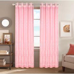Dreamscape Poly Cotton Floral, pink, door