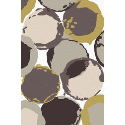 Floor Carpet and Rugs Hand Tufted, AC Concept Geometric Multi Carpets Online - ACR 33-L, 3ftx5ft, multi