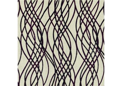 Raindrop Geometric Curtain Fabric - 41, purple, fabric
