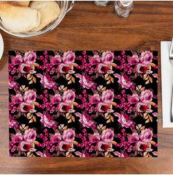 Printed Table Mats Set of 6, multi
