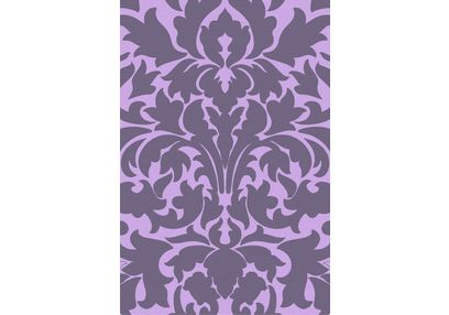 Floor Carpet and Rugs Hand Tufted, AC Concept Floral Purple Carpets Online - ACR (7) -L, purple, 3ftx5ft