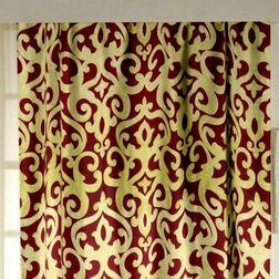 Rangshri Classic Readymade Curtain - 8, long door, red