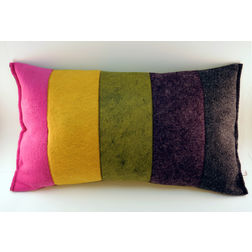 Stripe Cushion Cover MYC-65, pack of 1, multi