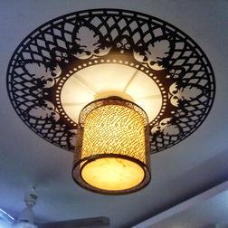 KakshyaaChitra Flower ceiling Decal