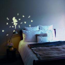 Children Wall Sticker Home Decor Line Glow Fairy - 42100