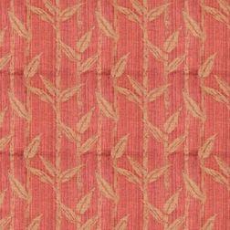 Constellation Floral Curtain Fabric - ZI106, orange, sample