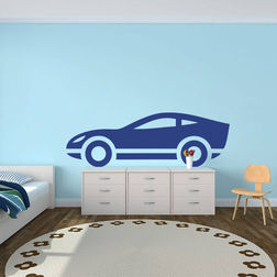 Kakshyaachitra Inspector Gadget Car Kids Wall Stickers, 24 8 inches