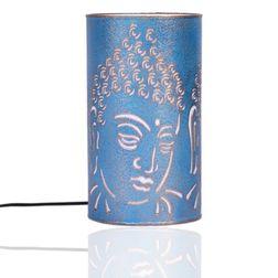 Aasra Decor Budha Lamp Lighting Table Lamp, blue