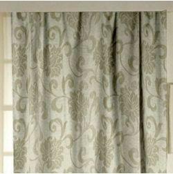 Rangshri Floral Readymade Curtain - 17, grey, window