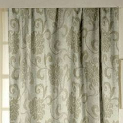 Rangshri Floral Readymade Curtain - 17, grey, long door