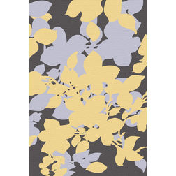 Floor Carpet and Rugs Hand Tufted, AC Concept Floral Multi Carpets Online - ACR 51-L, multi, 3ftx5ft