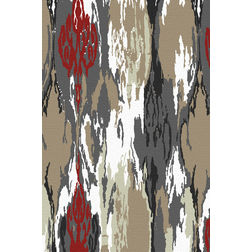 Floor Carpet and Rugs Hand Tufted, AC Concept Abstract Multi Carpets Online - ACR 48-L, multi, 3ftx5ft