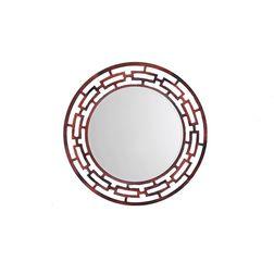 Aasra Decor Weave Mirror Decor Wall Mirror, multicolor