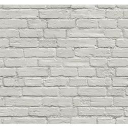 Elementto Brick Design Modern 3D Wallpaper for Walls - td31500, grey