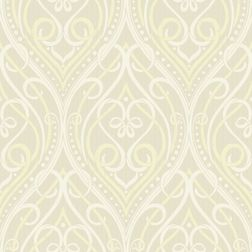 Elementto Wall papers Damask Design Home Wallpaper For Walls, beige