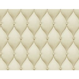 Elementto Geometric Design Modern 3D Wallpaper for Walls - td30000-3, beige