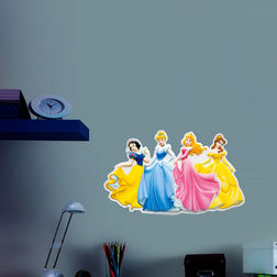 Wall Stickers For Kids Decofun Princess 3D Glow decor - 70611