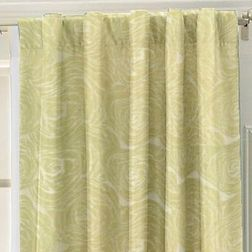 Constellation Floral Readymade Curtain - CSMI107, door, green