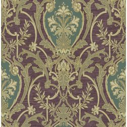 Elementto Wallpapers Cream Design Home Wallpaper For Walls ew70002-3, purple