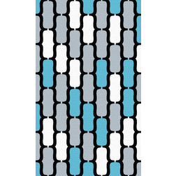 Floor Carpet and Rugs Hand Tufted, AC Concept Geometric Multi Carpets Online - ACR 39-L, 3ftx5ft, multi