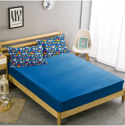 Bed in a bag BB32, double, royal blue