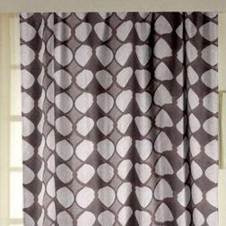 Zoya Geometric Readymade Curtain - 704, window, purple