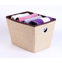 Towel Basket,  jute