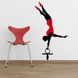 Kakshyaachitra Gymnastic Player in Circus Kids Wall Stickers, 48 83 inches