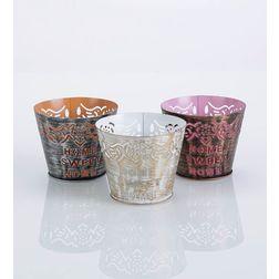Aasra Decor Home Sweet Home Candle Votive DecorVotives, multicolour