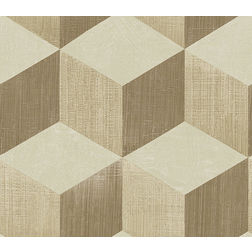 Elementto Wallpapers Geometric Design Home Wallpaper For Walls cr61310-2, light brown