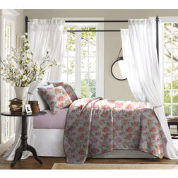 Bed in a bag BB14, double, mauve/white