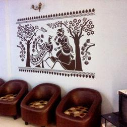 KakshyaaChitra Ashok Watika Ethnic Wall Decal