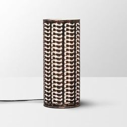 Aasra Decor Black and Bronze Moustache Table Lamp Lighting Table Lamp, multicolor