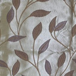 Roseberry Floral Curtain Fabric - 16, sample, grey