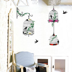 Wall Decals TC 3 Cages & Branch
