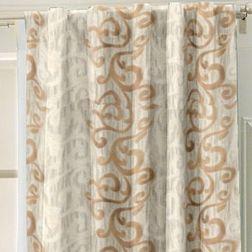 Bang Classic Readymade Curtain - SC1014, gold, door