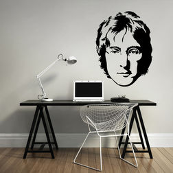 Kakshyaachitra John Lennon Wall Stickers For Bedroom And Living Room, 48 65 inches