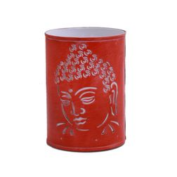 Aasra Decor Budha Side Night Lamp Lighting Night Lamps, orange