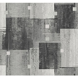 Elementto Wallpapers Square Design Home Wallpaper For Walls, lt  grey