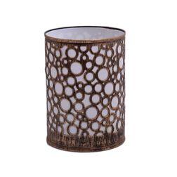 Aasra Decor Circles Pattern Night Lamp Lighting Night Lamps, gold