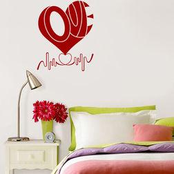 Wall Stickers WallDesign Love Bedroom Decor