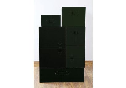 Wardrobe Style Storage Box Set, ST 130, wardrobe style storage box set