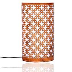 Aasra Decor Box in a Box Lamp Lighting Table Lamp, orange