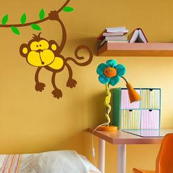Children Wall Stickers Chipakk Hanging Monkey AN3BM