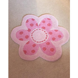 Floor Carpet and Rugs Hand Tufted AC ConceptAbstract Pink Carpets Online - SC-96-L, 3ftx5ft, pink