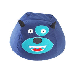 Dog Bean Bag Cover -BB34, blue