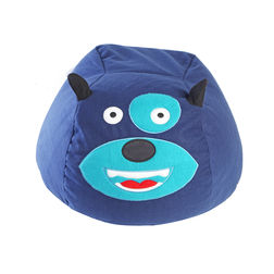 Dog Bean Bag Cover -BB34, blue
