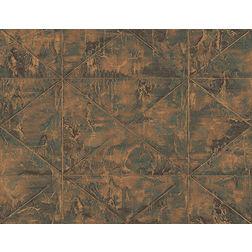 Elementto Wallpapers Geometric Design Home Wallpaper For Walls, orange