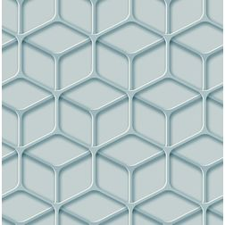 Elementto Geometric Design Modern 3D Wallpaper for Walls - td30800, blue